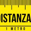 Adesivo Striscia – Metro –  Rispetta la distanza di sicurezza