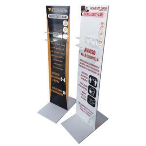 Totem Igienizzante porta dispenser - Peronalizzato
